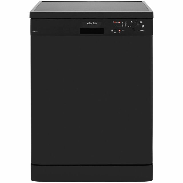 Electra C1760B A++ Dishwasher Full Size 60cm 12 Place Black New from AO