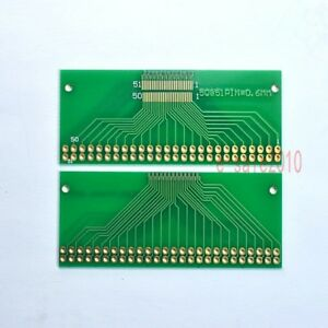 Details about 2pcs FFC/FPC LVDS MIPI 51 Pin 0 3mm to DIP 2 54mm Adapter PCB  Board Converter