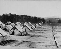 8x10 Civil War Photo: Union Camp Letterman General Hospital After Gettysburg