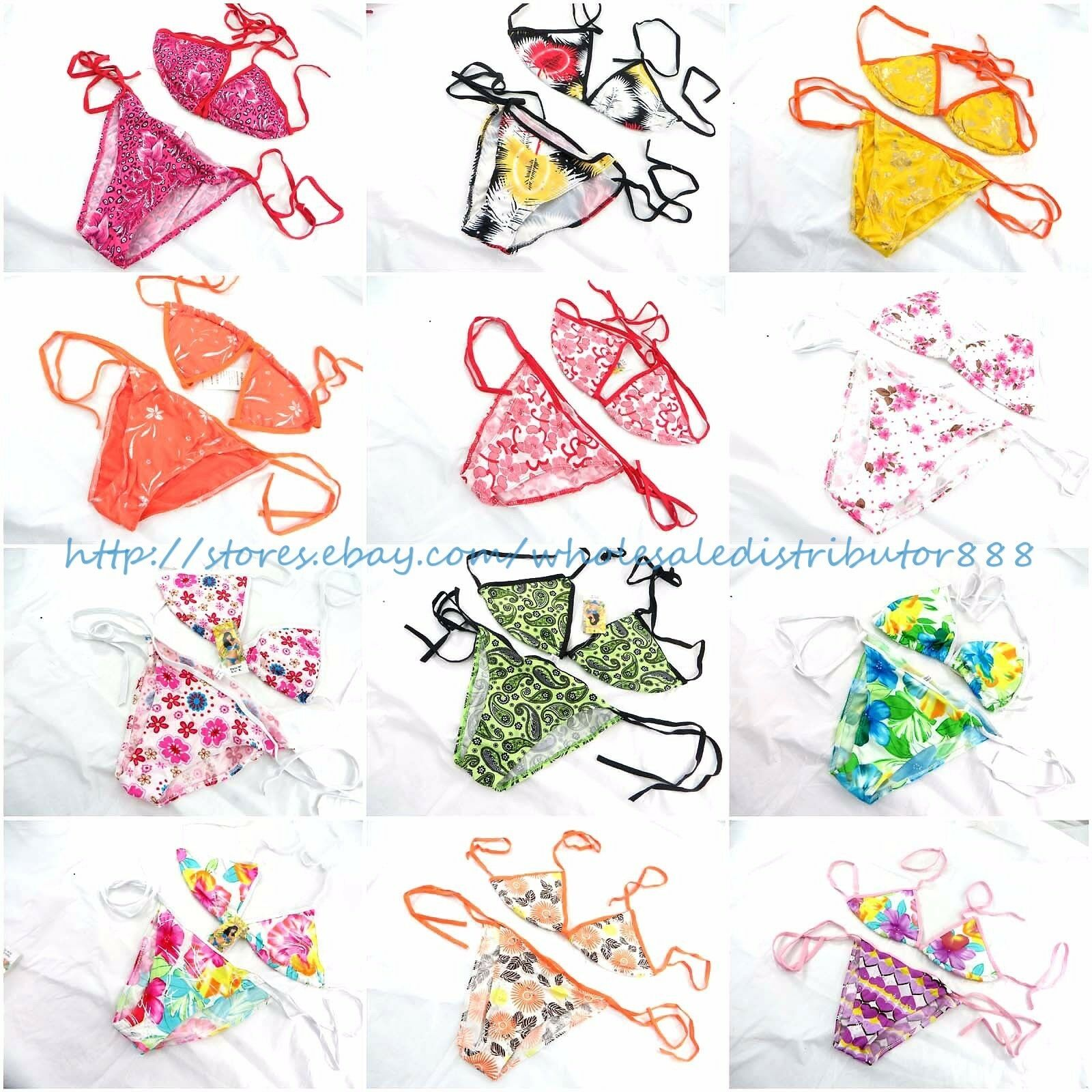 US SELLER- wholesale 10 sets Bikini Sexy Sexy Sexy Lady Swimwear Bathing Suit resort 40cec4