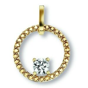 Zirkonia-0-1ct-Anhaenger-333-Gold-0-8g-L15-9mm-B11-9mm-T2-3-Gold-Glamour