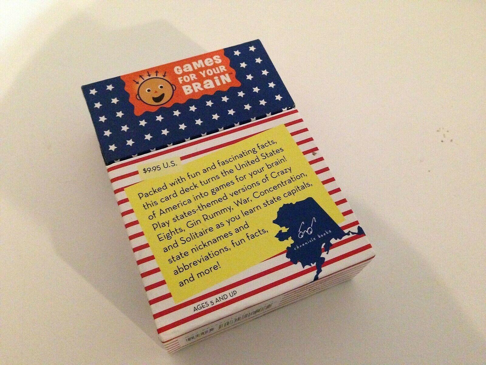 giocos For Your Brain Brain Brain United States autod gioco Crazy 8's War Gin Rummy Solitaire.. 679256