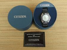 OLD STOCK DEMONSTRATOR CITIZEN 200M STAINLESS DIVER WATCH DOUBLE BLACK BOXED SET