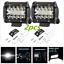2x 240W LED Work Light Bar Combo Beam Off-Road Driving Fog Lights Headlight Lamp