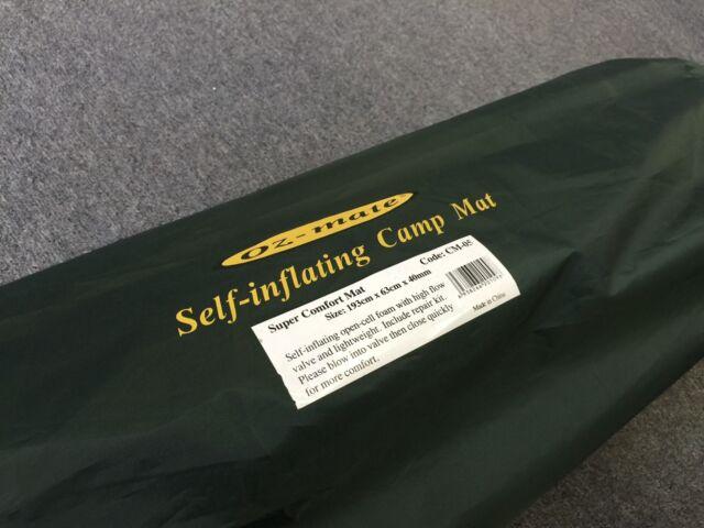 2 Pcs Self Inflating Mattress Airbed Sleeping Mat Camping Outdoor Hiking CM05