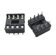 30PCS 8-Pin 8pins DIL DIP IC Socket PCB Mount Connector NEW L8
