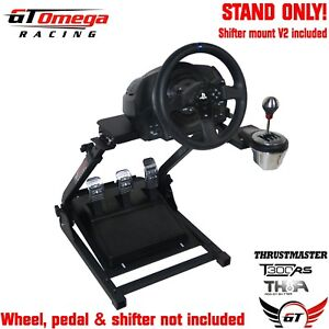 Gt Omega Steering Wheel Stand Pro For Thrustmaster T300rs
