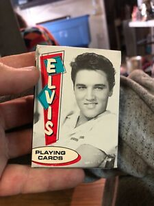 Young-ELVIS-PRESLEY-DECK-OF-PLAYING-Poker-CARDS-BY-Bicycle-Good-Condition