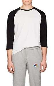 Black Long Bone Rag Classic £137 Shirt Size amp; white Baseball Large L Rigby Men's 8nqYYwFx6A