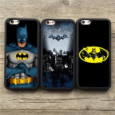 Fashion Cool Super Hero Batman Soft Cover Case For iPhone 5c 5/5s 6/6s 7 Plus