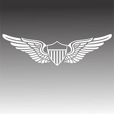 U.S. Army Aviator Pilot Wings Decal Military Aviation Sticker