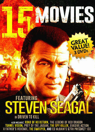 15 Movies: Featuring Steven Seagal and Chuck Norris (DVD ...