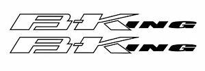 Stickers-B-KING-BKING-Suzuki-mod-2-23cm-x-2cm