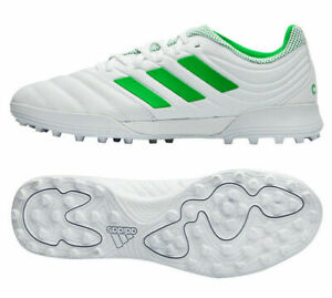 Adidas-Copa-19-3-TF-Men-039-s-Soccer-Cleats-Football-Shoes-White-Green-D98064