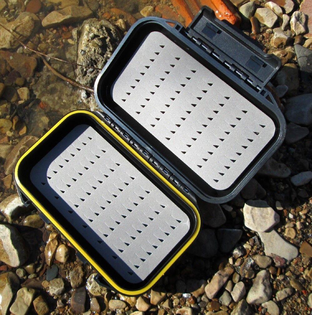Doppelseitige  Fliegendose Gilchrist Fliegen Taschengröße Wasserdicht