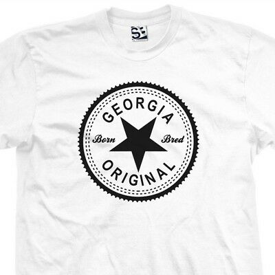 Atlanta Original Inverse T-Shirt Born and Bred in ATL Made Tee All Size Colors