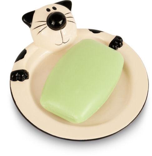 salle de bain cat céramique new plat soap accessoire Féline 2kewt