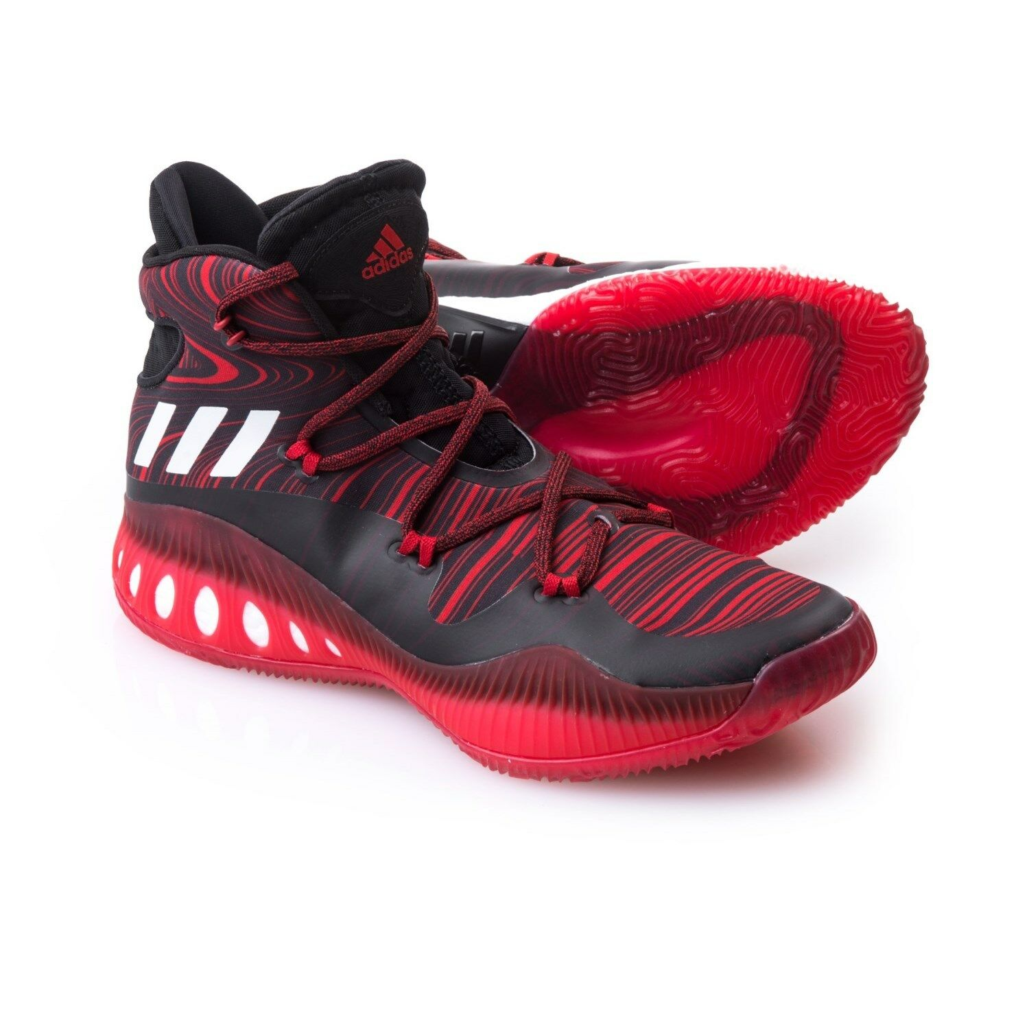 NWB~ EXPLOSIVE MEN'S ADIDAS SM CRAZY EXPLOSIVE NWB~ NBA SHOES. SIZES 17, 18, 19. B38863. SHARP 078bdc