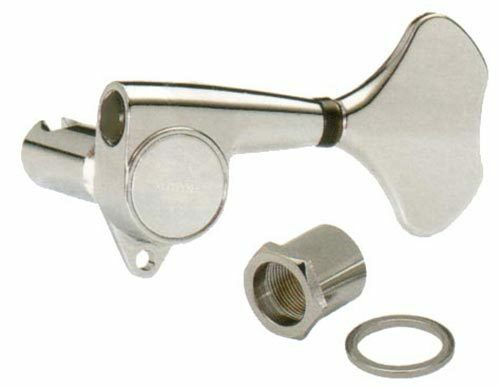 Gotoh GB-707C Bass Guitar Tuners Chrome 4L - Made in Japan
