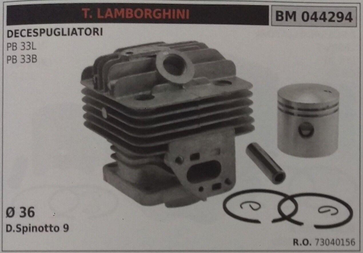 73040156 Cilindro y Pistón Completo Cortador de Cepillo Lamborghini Pb 33L 33B Ø