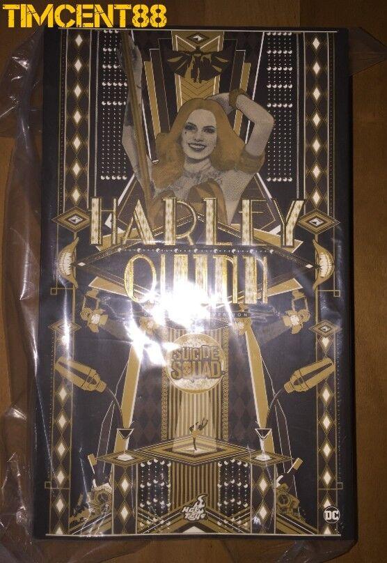 Prêt Hot Toys MMS439 Suicide Squad Harley Quinn Margot danseuse robe VERSION 1 6