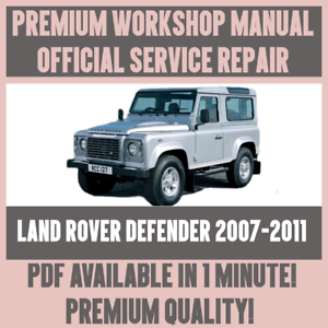 workshop manual service repair guide for land rover defender 2007 rh ebay co uk 2002 land rover discovery owners manual pdf land rover defender puma owners manual pdf