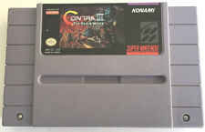 Contra III: The Alien Wars (Super Nintendo, 1992) SNES Tested Works Great