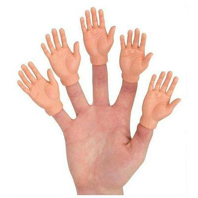 SET OF 5 FINGER HAND PUPPET CAKE PENCIL TOPPER PARTY FAVOR  HALLOWEEN GAG GIFT