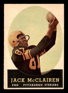 JACK-McCLAIREN-1958-TOPPS-1958-NO-51-EX-22696