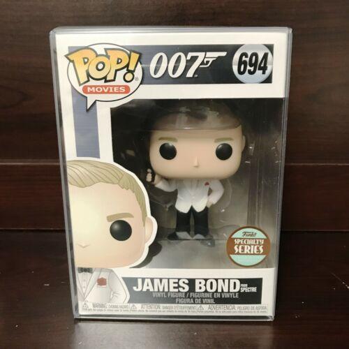 "Funko Pop Specialty Series 007 James Bond #694 Vinyl Figure /""MINT/"" IN STOCK"