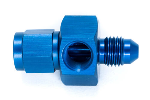 "AN4 JIC4 Sensoradapter Dash 04 1//8/""NPT female male Blau 7//16-20UNF"