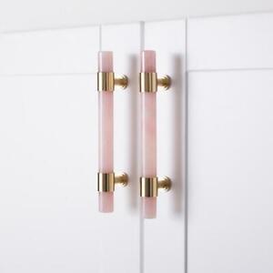 3 78 5 Artificial Stone Dresser Drawer Pulls Kitchen Cabinet Pulls Handles Ebay