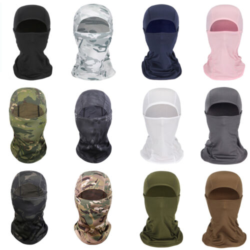 Details about  /Unisex Winter Balaclava Hat Face Cover for Skiing Snowboarding Motorcycle Riding