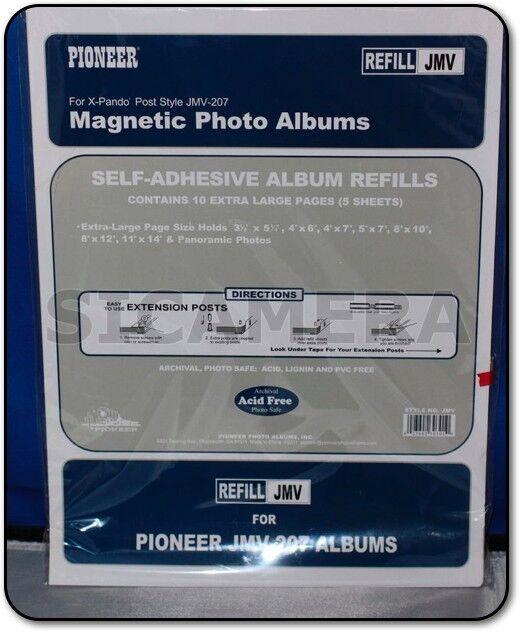 6 Pioneer Photo Album Refill Packs Jmv To 8 12x11 For Jmv 207 Ebay