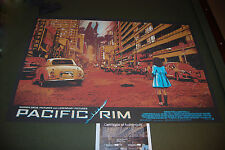 Pacific Rim James Fosdike VARIANT Poster Screen Print Limited of 75 Odd City