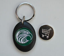KEYRING LOCKERSHOPPING TROLLEY COIN BIRD PREY FALCONRY EAGLE RAPTOR HAWK KITE