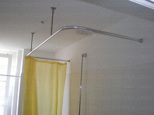 Duschvorhangstange U-Form Stange für für für Duschvorhang d1cf03