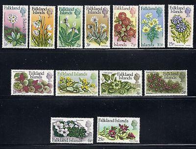 Gewissenhaft Falkland Inseln 1972 Blumen Dezimal Dauermarken Mlh Briefmarken Süd- & Mittelamerika