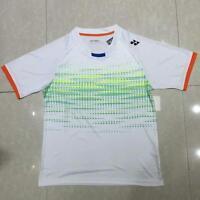 Men's Sportswear Badminton Clothes Tennis Tops Short Sleeve T Shirt 3017