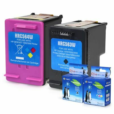 3pk For HP 61XL CH563WN CH564WN Ink For Officejet 2620 4630 4632 4635