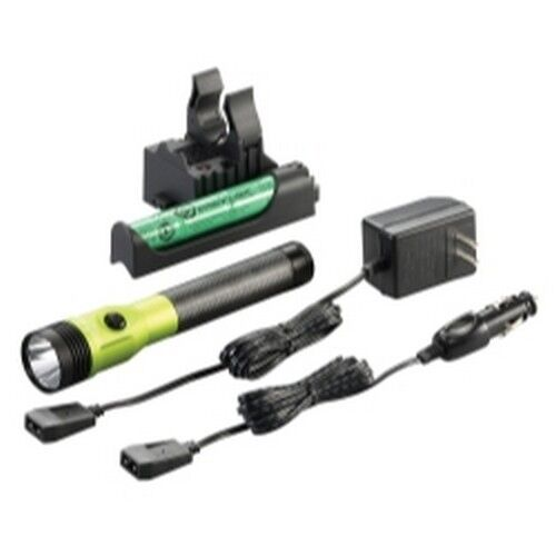 Streamlight 75488 Stinger DS LED HL Rechargeable Flashlight - 120 DC  - Lime