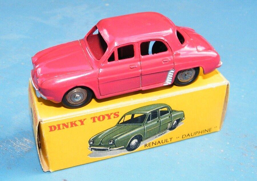French Dinky Toys No.24 E Renault Dauphine rouge Original  VNMB  prix équitables
