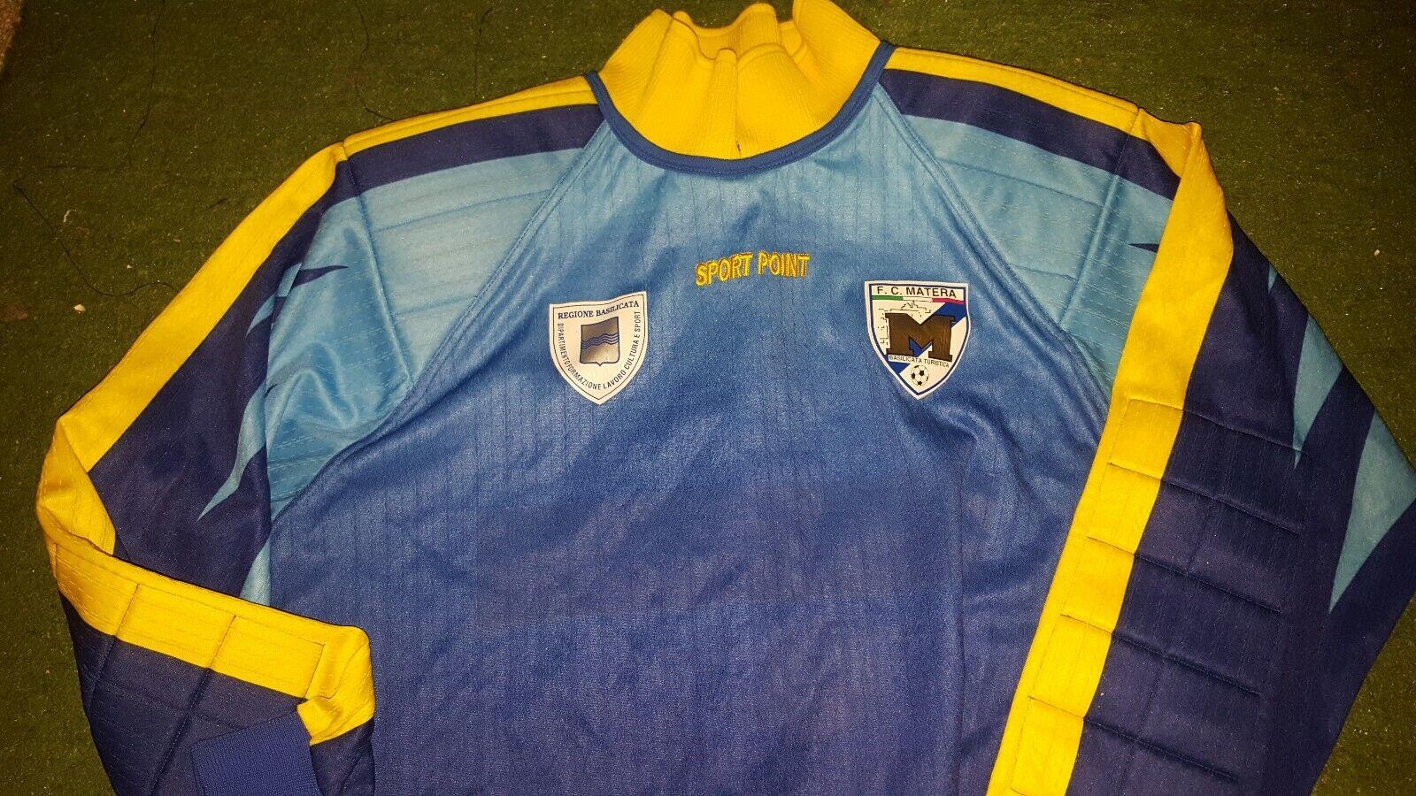 MAGLIA indossata SHIRT Match worn CALCIO FOOTBtutti SOCCER SOCCER SOCCER MATERA 20022003 59c