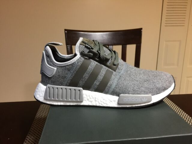6e653d5a455f2 Adidas NMD ALL Gray Wool Super Superstar flux ultra boost White red R1  Black XR1