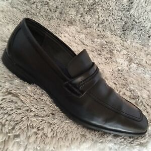 1ef04a71615 Giorgio Brutini Liston Men s Sz 12 M Black Leather Slip On Loafers ...