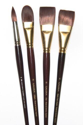 Winsor Newton Large Galeria Brush Set of 4 asst LIST $201.NOW ONLY $69.