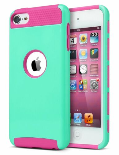 iPod Touch 6 Case,iPod Touch 5 Case, Slim Fit Protective Cover Colorful Series