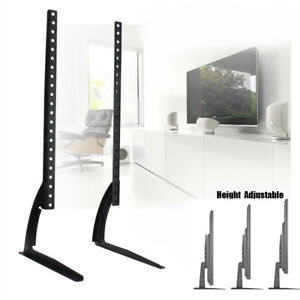 Universal Table Top Tv Stand Pedestal Legs For Samsung 22 55