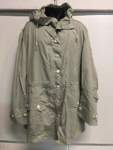 European Military Surplus Snow Parka LARGE Cotton Swedish Army ...