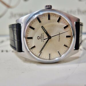 Details zu Vintage Omega Geneve 35mm 24 Jewels 552 Steel Swiss Made Automatic Watch